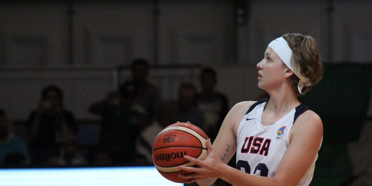 USA's Dunkin aims high at 2019 Women's U25 World Championship