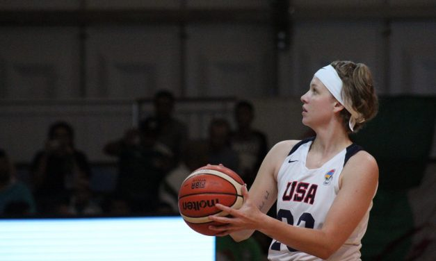 USA's Dunkin aims high at 2019 Women's U25 World Championship