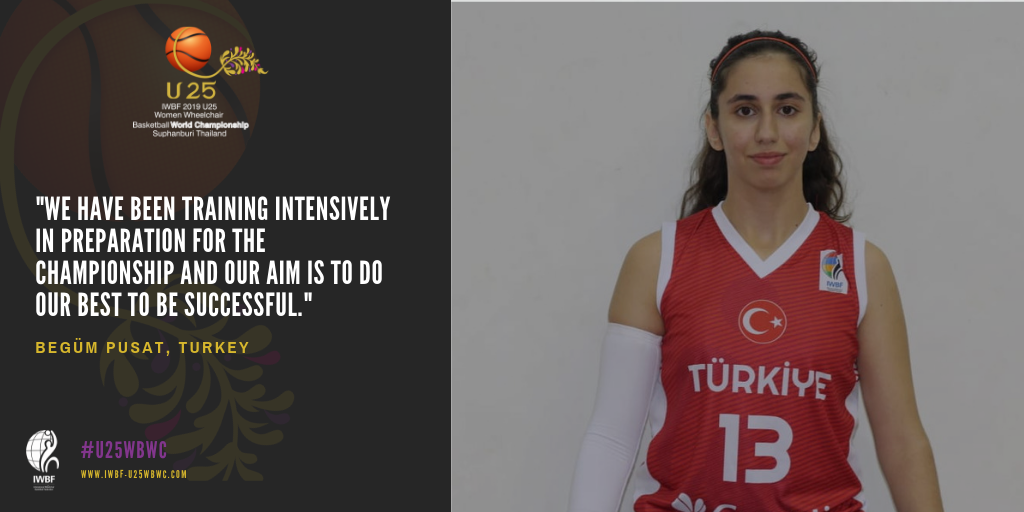 Pusat excited to make debut for Turkey at U25 World's